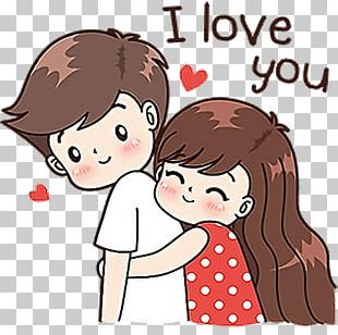 Drawing Couple Love Video PNG