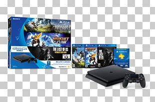 Sony PlayStation 4 Slim Horizon Zero Dawn The Last Of Us Ratchet & Clank PNG