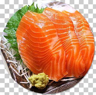 Sashimi Sushi Smoked Salmon Japanese Cuisine Philadelphia Roll PNG