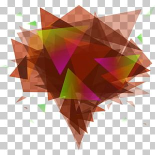 Collage Triangle PNG