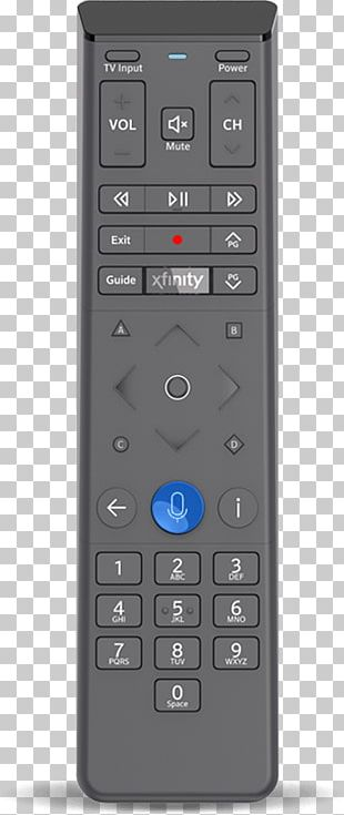 Remote Controls Comcast Xfinity TV Go Remote Application PNG