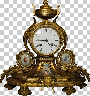 Mantel Clock Floor & Grandfather Clocks Antique Movement PNG