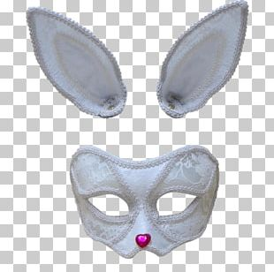 Mask European Rabbit Carnival Disguise Halloween PNG
