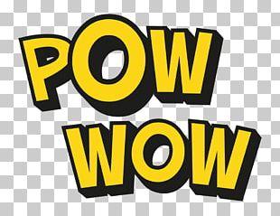 Pow Wow Logo Font Brand PNG