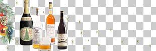 Liqueur Glass Bottle Dessert Wine Champagne PNG