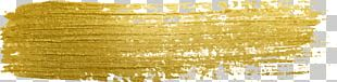 Paint Gold PNG