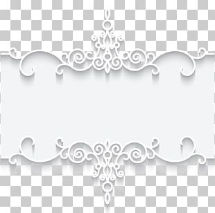 Paper Lace Frame Textile PNG