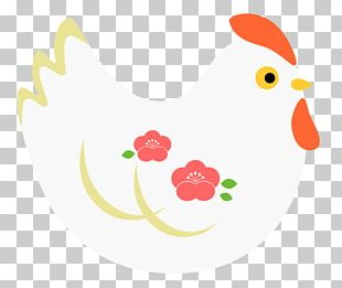 Rooster Character PNG
