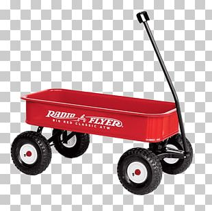 Toy Wagon Radio Flyer PNG