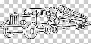 Logging Truck Lumberjack Kenworth PNG