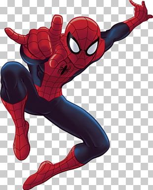 Ultimate Spider-Man Wall Decal PNG