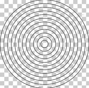 Mandala Round MAZE Disk Concentric Objects Drawing PNG