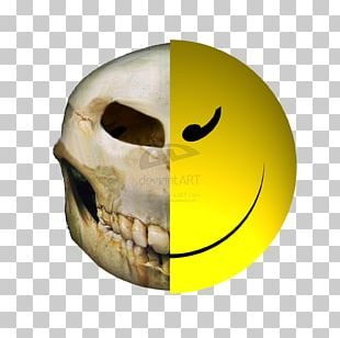 Smiley Skull Face Human Skeleton Jaw PNG