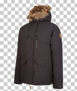 Hood Down Feather Jacket Overcoat PNG