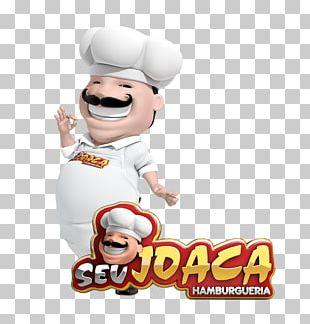 Seu Joaca Hambugueria Logo Food 3D Computer Graphics PNG
