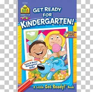 Big Kindergarten Workbook Ready To Read Education Activity Book PNG