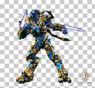 StarCraft II: Wings Of Liberty Pixel Art Protoss PNG