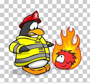 Club Penguin Firefighter Fire Department Fire Engine PNG