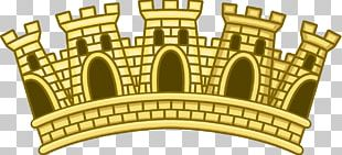 Mural Crown Coronet Coat Of Arms PNG