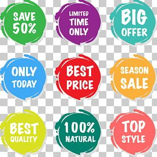 Sales Sticker Price Tag PNG
