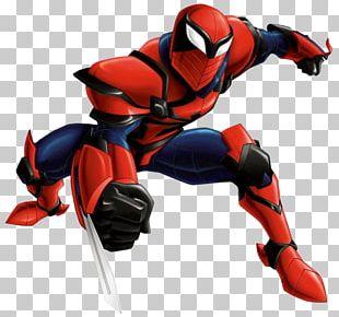 Spider-Man Venom Green Goblin Captain America Miles Morales PNG