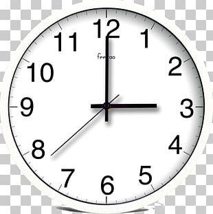 Digital Clock Light Wall Quartz Clock PNG