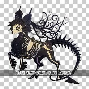 Horse Cartoon Animal Font PNG