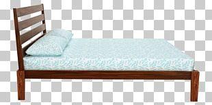 Bed Frame Mattress Headboard Platform Bed PNG