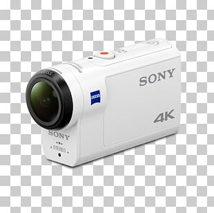 Sony Action Cam FDR-X3000 Video Cameras 4K Resolution PNG