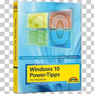 Windows 10 Für Senioren Markt+Technik Microsoft Windows Book PNG