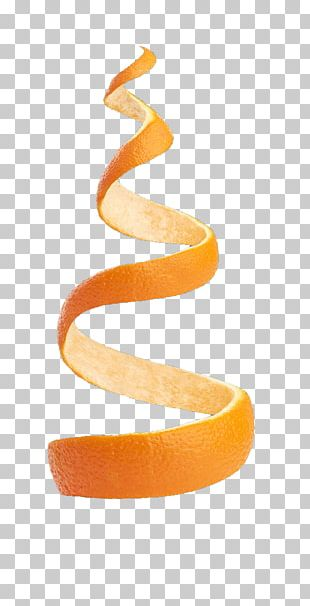 Orange Juice Peel PNG