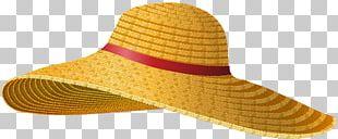 Straw Hat Cowboy Hat PNG