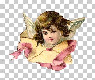 Cherub Angel Christmas Fairy PNG