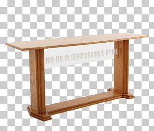 Communion Table Pulpit Furniture Church PNG