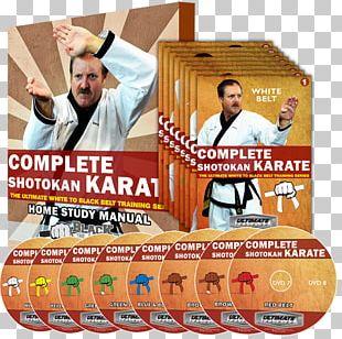 Shotokan Karate Black Belt Martial Arts DVD PNG