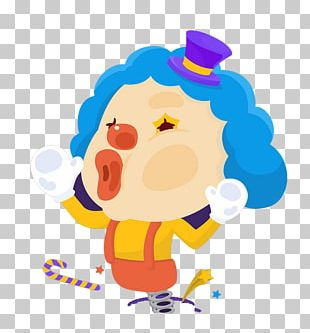 April Fools Day Clown Cartoon PNG