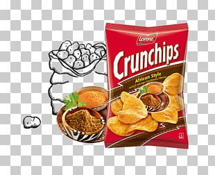 Lorenz Snack-World Crunchips Potato Chip Bahlsen Food PNG