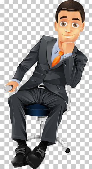 Cartoon Character Businessperson PNG