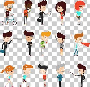 Character Model Sheet Cartoon Illustration PNG