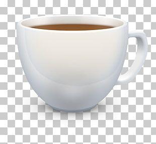 Coffee Cup Espresso White Coffee Earl Grey Tea Ceramic PNG