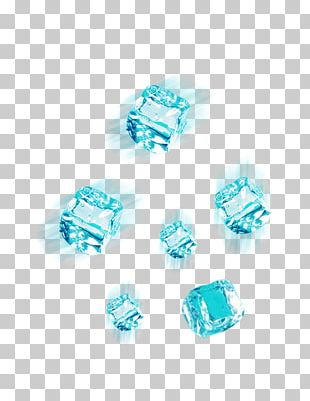 Ice Cube Blue PNG