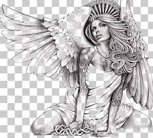Canvas Print Giclxe9e Angel Art PNG