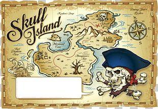 Treasure Map Piracy PNG