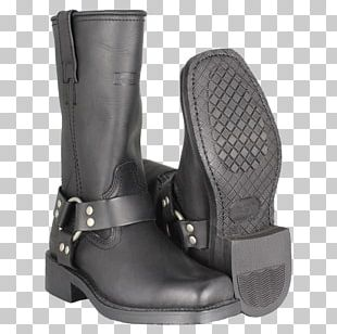 Boutique Of Leathers Motorcycle Boot Riding Boot PNG