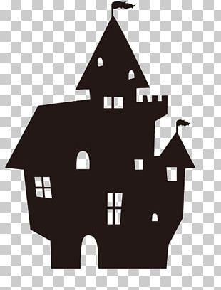 Papercutting Halloween Silhouette Origami PNG