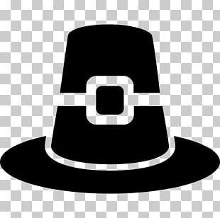 Pilgrim's Hat Silhouette PNG