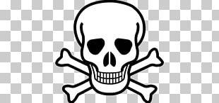 Skull And Bones Skull And Crossbones Graphic Design PNG