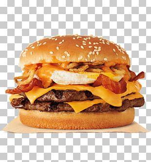 Whopper Hamburger Bacon Cheeseburger Fried Egg PNG