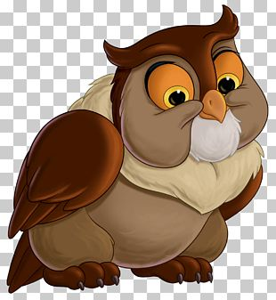 Bambi Faline Friend Owl Thumper Great Prince Of The Forest PNG