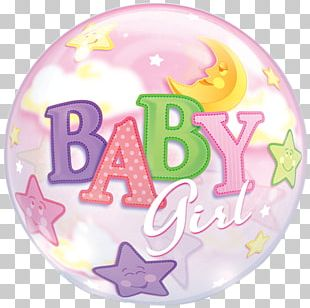 Balloon Baby Shower Party Birthday Infant PNG